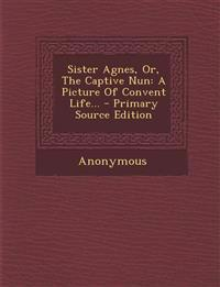 Sister Agnes, Or, The Captive Nun: A Picture Of Convent Life... - Primary Source Edition