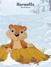 Marmotte Libro Da Colorare 1