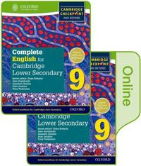 Complete English for Cambridge Lower Secondary Print and Online Student Book 9