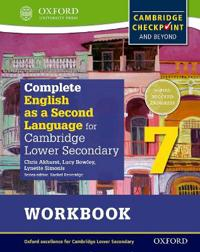 Complete English As a Second Language for Cambridge Lower Secondary Workbook + Cd