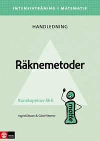 Intensivträning ma åk 4-6 Räknemetoder Lhl - Ingrid Olsson, Görel Sterner pdf epub
