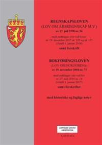 Regnskapsloven ; Bokføringsloven : (lov om bokføring) av 19. november 2004 nr. 73 : med endringer, sist ved lov av 27. mai 2016 nr. 14 (i kraft 1. januar 2017) : samt forskrifter