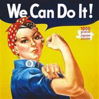 Adult Jigsaw J Howard Miller: Rosie the Riveter Poster: 1000 Piece Jigsaw Puzzle