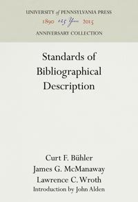 Standards of Bibliographical Description