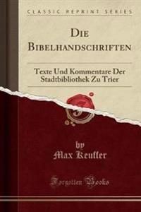 Die Bibelhandschriften