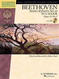Beethoven Piano Sonata No. 10 in G Major, Opus 14, No. 2