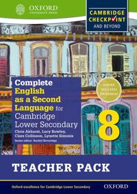 Complete English as a Second Language for Cambridge Lower Secondary Teacher Pack 8
