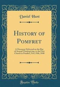 History of Pomfret