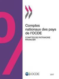 Comptes Nationaux Des Pays de L'Ocde, Comptes de Patrimoine Financier 2017