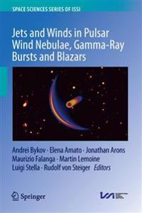 Jets and Winds in Pulsar Wind Nebulae, Gamma-ray Bursts and Blazars