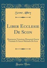 Liber Ecclesie de Scon