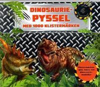 Dinosauriepyssel : med 1000 klistermärken