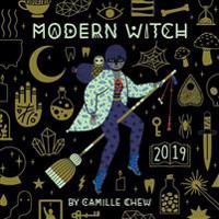 Modern Witch 2019 Square Wall Calendar