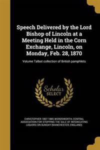 SPEECH DELIVERED BY THE LORD B