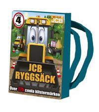 JCB pysselryggsäck : innehåller 4 pysselböcker och kritor - över 175 coola klistermärken