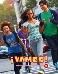 ¡Vamos! 4 Textbok inkl. ljudfiler och elevwebb