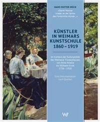 Künstler in Weimars Kunstschule 1860-1919