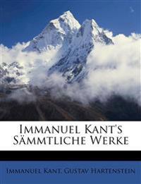 Immanuel Kant's Sämmtliche Werke