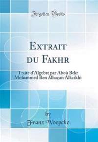 Extrait Du Fakhr