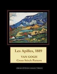 Les Apilles, 1889: Van Gogh Cross Stitch Pattern