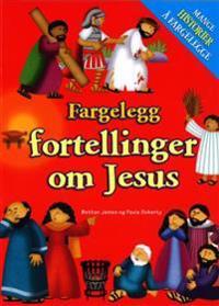 Fargelegg fortellinger om Jesus. Mange historier å fargelegge