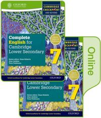 Complete English for Cambridge Lower Secondary Print and Online Student Book Pack 7