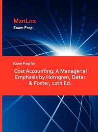 Exam Prep for Cost Accounting