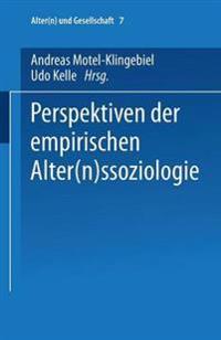 Perspektiven Der Empirischen Alternssoziologie