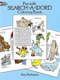 Fun With Search-a-word Coloring and Activity Book