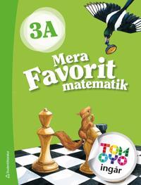 Mera Favorit matematik 3A Elevpaket - Digitalt + Tryckt