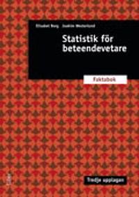 Statistik för beteendevetare : faktabok