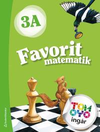 Favorit matematik 3A Elevpaket - Digitalt + Tryckt