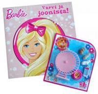 Barbie. värvi ja joonista!