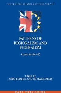 Patterns of Regionalism And Federalism