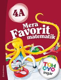Mera Favorit matematik 4A Elevpaket - Digitalt + Tryckt - Katariina Asikainen  Kimmo Nyrhinen  Pekka Rokka  Päivi Vehmas - böcker (9789144124308)     Bokhandel