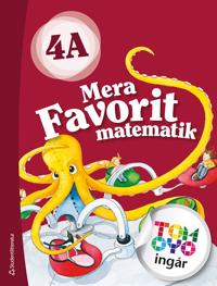 Mera Favorit matematik 4A Elevpaket - Digitalt + Tryckt