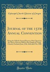 Journal of the 15th Annual Convention