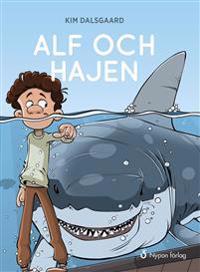 Alf och hajen (CD + bok)