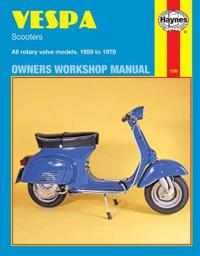 Vespa Scooters Owners Workshop Manual
