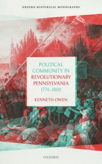 Political Community in Revolutionary Pennsylvania, 1774-1800