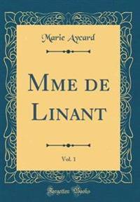 Mme de Linant, Vol. 1 (Classic Reprint)