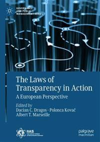 The Laws of Transparency in Action: A European Perspective