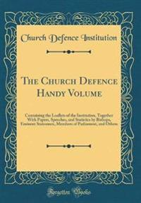 The Church Defence Handy Volume