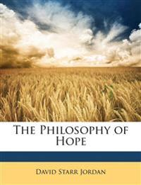 The Philosophy of Hope