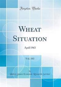 Wheat Situation, Vol. 183