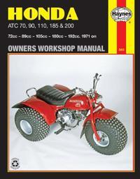 Honda Atc 70, 90, 110, 185 and 200 Manual