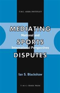 Mediating Sports Disputes