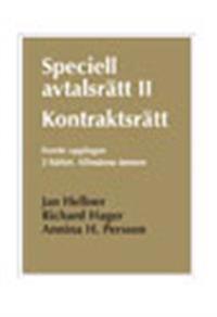 Speciell avtalsrätt II. kontraktsrätt. :  H. 2, allmänna ämnen