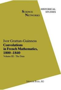 Convolutions in French Mathematics, 1800-1840