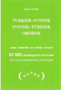 Turkisk-Svensk Svensk-Turkisk Ordbok